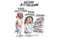 La testata satirica Charlie Hebdo ha pubblicato una vignetta sul terremoto del centro italia. Ecco perché secondo me è un grosso errore di comunicazione.