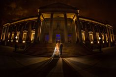 A Chicago History Museum Wedding - Chicago Wedding Photography Night Time Photography, Wedding Photography, Night Time Wedding, Chicago History Museum, Night Portrait, Chicago Photos, Museum Wedding, Wedding Reception Venues, Wedding Portraits