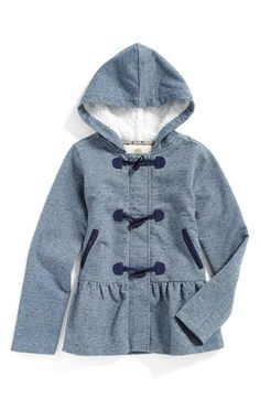 Tucker + Tate 'Darci' Hooded Jacket (Toddler Girls, Little Girls & Big Girls) available at #Nordstrom