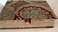 Caixa Livro Valencia Marrom - M  www.munayartes.com