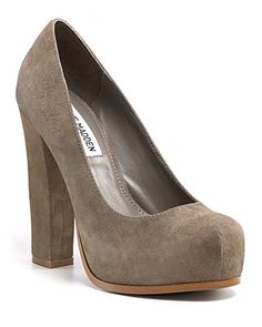 Steve Madden- I have them in Black $29 from TJ Max http://pearlsandchandeliers.com