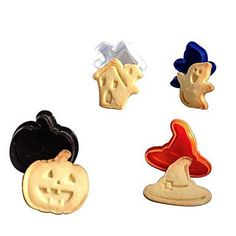 Set of 4 3D Halloween Stereo Cookie Cutter 15*10*5cm (Random Color)   MSKU2091385 by RUSTIKOcakeDecoratio on Etsy