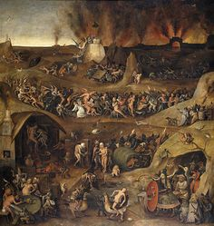 Hell ,1570 by Pieter Huys