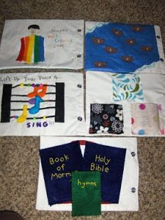 Mule 'n Nag Crafts: Gospel Quiet Book (Joseph's coat, glowing stones, singing voices)