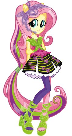 Equestria Girls Rainbow Rocks Fluttershy by on DeviantArt Rainbow Rocks, Rainbow Dash, Goth Disney Princesses, Fluttershy, Mlp, Adventure Time Finn, Anime Best Friends, My Little Pony Pictures, Princess Drawings
