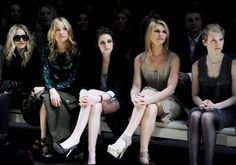 Burberry AW10 Front Row