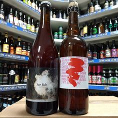 Surt Til - 5% Sour Mashed Belgian Xmas Table Beer & Sur Yule - 5.3% Sour Pale Ale with Cherries from @toolbeer