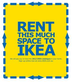 IKEA RENT SPACE