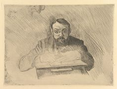 Henri Matisse - Self-Portrait of the Artist Etching 1900–03 Medium: Drypoint; fourth state of four