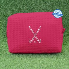We are obsessed with our GlitterSPORT Cosmetic Bags - the perfect gift for any female athlete in your life!