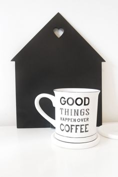 Favourite Picks from Gifts & Pieces Things Happen, Good Things, Beauty Full, Shit Happens, Mugs, Coffee, Tableware, Gifts, Kaffee