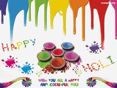 Best Holi Images To Shower Your Feelings On Your Loved Ones ----  #14. Colourful Holi images