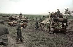 come back Stug lll and await Marder II