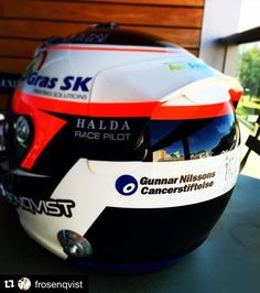 #Repost @frosenqvist with @repostapp  Proud to wear this logo on my new helmet - Paintjob by @360gfx_com / Lasse Mehtola #FuckCancer