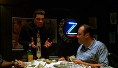 Silvio Dante - The Sopranos / Just when i thought i was out .. They pull me back in...