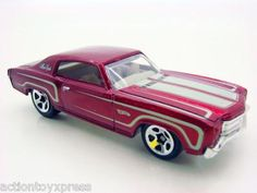 2012 hot wheels mystery cars mystery models 30 loose 70 chevy monte carlo rare - Rare Hot Wheels Cars 2012
