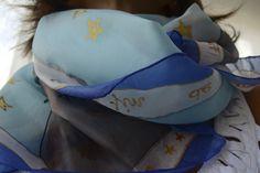 pañuelo del principito pintado a mano