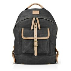 WILL Leather Goods Waxed Canvas Dome Backpack - Apple Store (U.S.)