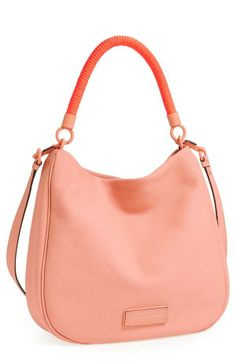 A sweet coral tote for spring | Marc By Marc Jacobs