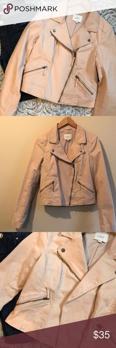 AMAZING LOFT JACKET!!!🌺 AMAZING LOFT JACKET!!!🌺 size small in excellent condition! Dusty pink color, so many beautiful details the pictures don't even pick up! LOFT Jackets & Coats