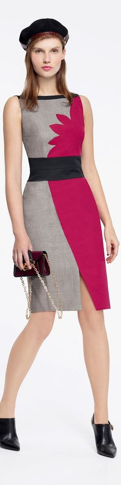 Paule Ka 2015/16 women fashion outfit clothing style apparel @roressclothes closet ideas