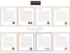 Bt 21, Notebook, Bullet Journal, Ukulele, Kawaii, Memes, Cute Stickers, Songs, Blue Prints