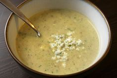 @DealPeddler_Zucchini, Bacon & Blue Cheese Soup