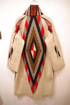 Not a patchwork but it could be...vintage chimayo coat