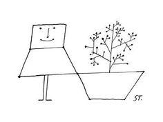 Cartoon Drawing Tips Premium Giclee Print: Cartoon by Saul Steinberg : - Sketchbook Drawings, Doodle Drawings, Cartoon Drawings, Doodle Cartoon, Cartoon Cartoon, Sketching Tips, Drawing Tips, Drawing Ideas, Learn To Draw Cartoons