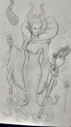 Maleficent by Felipe Aquino