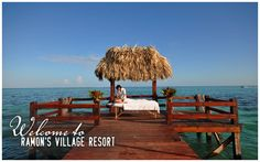 """You know the old adage, """"You have to see it to believe it""""? Well, that pretty well summarizes Ramon's Village Resort on the island of Ambergris Caye, Belize."""