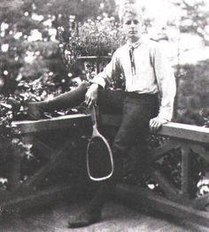 Maxfield Parrish around 17 years of age