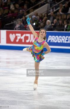 Julia Lipnitskaia of Russia skates in the womens short program during Day One of the Progressive Skate America ISU Grand Prix of Figure Skating on October 23, 2015 in Milwaukee, Wisconsin.