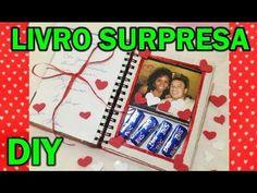 ★DIY: Livro Surpresa - Dia dos Namorados ♥ Artes, presentes, artesanato ...