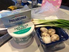 Easy stuffed mushroom recipe!