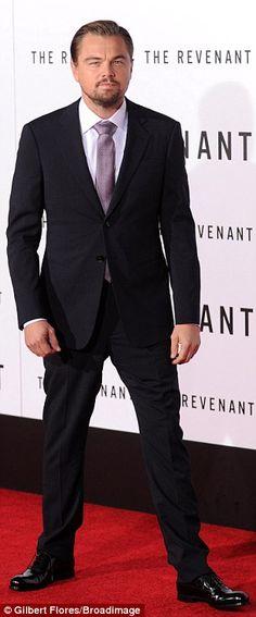 Leonardo DiCaprio and Tom Hardy look dapper at The Revenant premiere