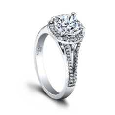 The Tempest Engagement Ring, with its unique style and eye-catching shine, is the perfect way to tie the knot with that special someone! #OKC #JewelSmiths http://jewelsmiths.net/product/tempest/