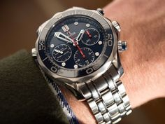Omega Seamaster 300M Co-Axial Chronograph 41.5mm Watch Review