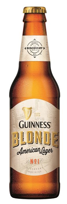 GUINNESS Blonde American Lager Bottle Shot 0 395x1200 Review: Guinness Blonde American Lager