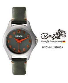 HITCHIN BB010A   | Meterail:316L Stainless Steel  | Movement: MIYOTA 2035  | Case Size: 26mm  | Band Size: 12mm  | Band: Enamel coated Genuine Leather  | Glass: Hardened Mineral Crystal  | Water Resistance : 3 ATM