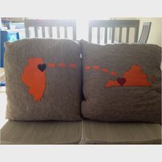 Need an Alaska and a Michigan pillow, since that's where my heart is.