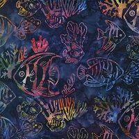 Batik Fish-K13151-237 Bermuda