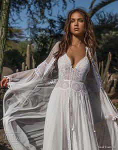 WEDDING IDEAS & INSPIRATIONS (via Asaf Dadush 2018 Wedding Dresses | Wedding Inspirasi)