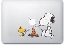 MacBook Air Stickers Peanuts Snoopy & Woodstock