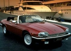Jaguar XJ-S My dream car is the 1985 Jaguar XJS in metallic burgundy, tan leather interior...this one's pretty close, not sure on the year...