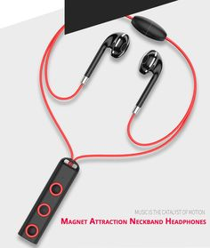 Responsible 2018 Hottest Fashion Magnetic Wireless Bluetooth Sports Earphones Heavy Bass Metal Earbuds In-ear Earpieces Universal For Phone Consumer Electronics