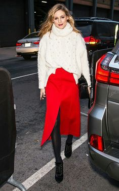 Red is always trendy