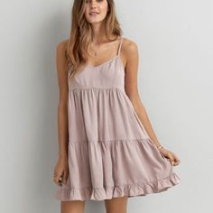 AE babydoll dress brand new with tags. American Eagle Outfitters Dresses