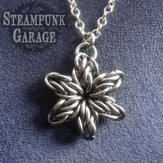 ORIGINAL Stan Star Six  6Pointed Star Pendant  by SteamPunkGarage, $50.00