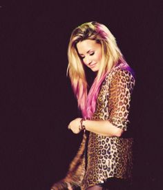 Demi Lovato ~ pink hair